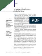Integrando Lean Six Sigma