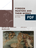 Foreign Painters and Their Works