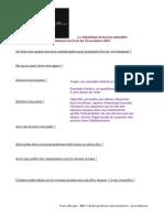 Questionnaire Attentats Paris 2015