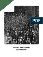 DEFILAREA ARMATEI ROMĂNE