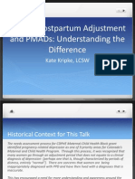 PF Normal Postpartum Adjustment and PMADs Understanding the Difference 0