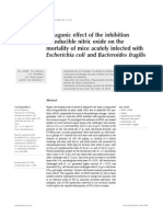 Antagonic Effect of the Inhibition of Inducible Nitric Oxide on The