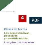 Solucionario Tema 4 Clases de Textos