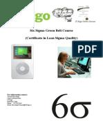 Six Sigma Green Belt Information Brochure