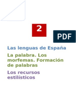 Solucionario Tema 2 Las Lenguas de España