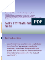 Bases Fisiopatológicas Del Dolor
