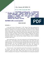 11. Pp v. Suarez, 267 SCRA 119