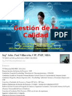 Gestion de Calidad Prof. Paul Villacorta BS Grupo