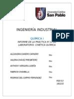 Informe n 11 Quimica
