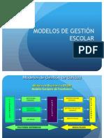 Modelos de Gestion Escolar