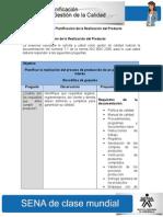 Actividad de Aprendizaje Unidad 4 Planificacion de La Realizacion Del Producto