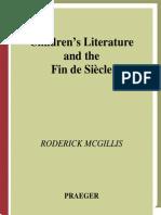 Children's Literature and the Fin de Siecle