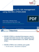 Sec3 Risk-management Iso27005