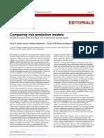 Comparing Risk Prediction Models
