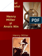 Henry Miller Si Anais Nin