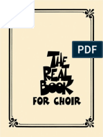 The Real Book for Choir