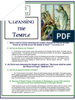 Day 2 - Monday, Cleansing the Temple