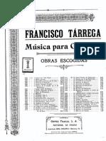 Francisco Tarrega - Haydn Andante