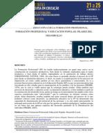 Vicente Esteban - Dimensión Educativa de La Formación Profesional
