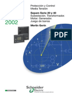 Sepam S20 & S40 (CatalogoESP 2002)