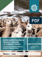 4. Empresa Procesadora de Charqui y Chalona El Sabroso