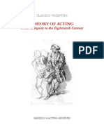 Claudio Vicentini_Theory of Acting