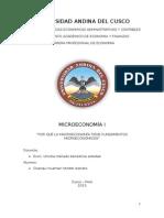 Monografia Micro economia