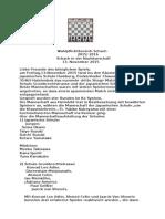schach in dwr nachbarschaft vom 13 november 2015tunierbericht