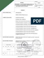 Norma CADAFE 139-07 Transformadores y Autotransformadores de Potencia. Partes, Accesorios, Repuestos y Documentacion Tecnica