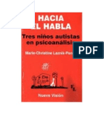 Laznik Penot Marie Christine - Hacia El Habla