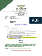 AU FINC 501 MidTerm Exam 2nd Semester2015ss V2