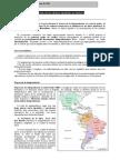 Proceso Emancipacion Colonias Españolas en America