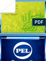 Selling In PEL Pakistan Limited