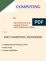 Soft Computing Class1