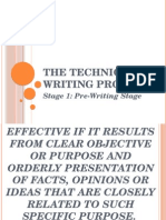 The Technical Writing Process_Stage 1