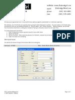 CAD Attributes Method