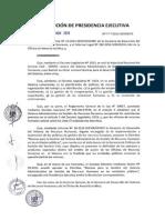 Resolución 238 2014 Ley Servir Perú