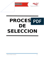 Lectura 1 Proceso de Seleccion de personal