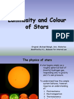 Lecture1 Nature of the Stars