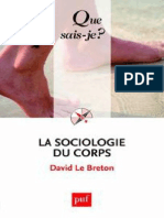 La Sociologie Du Corps Le Breton David