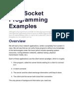 Java Socket Programming Examples