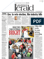 Front — The Lawrence Herald, Dec. 20, 2008
