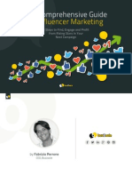 The Comprehensive Guide to Influencer Marketing