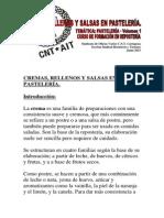Cremas, Rellenos y Salsas - Curso de Formación en Repostería Vol. 1 de 5 - CNT Cartagena