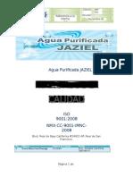 Manual de Calidad Agua Purificada JAZIEL..