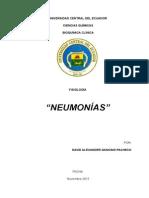 Monografia Neumonías David Gancino