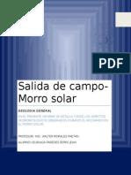 Informe Del Morro Solar-terminado