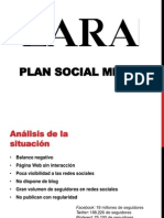 Plan Socialmedia Zara