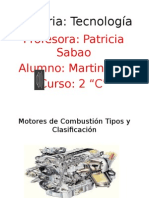 Motores de Combustión Tipos y Clasificación