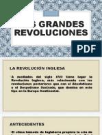 Las Grandes Revoluciones